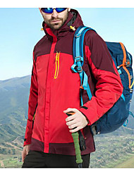 Men's Women's 3-in-1 Jackets Breathable for Camping / Hiking All Seasons S M L XL XXL