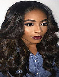 Glueless Middle Part Body Wave Wig Virgin Hair For Black Women