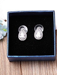 Stud Earrings  Cubic Zirconia Classic Big Drop Jewelry ForWedding Party Special Occasion Anniversary Graduation Gift