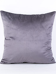 Chenille Pillow Case- gray