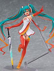 Figures Animé Action Inspiré par Vocaloid Hatsune Miku PVC 14 CM Jouets modèle Jouets DIY
