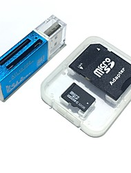 32gb microsdhc tf geheugenkaart met alles in één usb kaartlezer en sdhc sd adapter