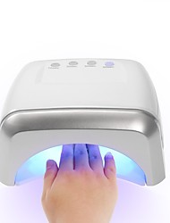 60W 3 CCFL 12 LED UV Lamp Professional Nail Dryer Machine LED Nail Lamp Fingernails Toenails Curing UV Gel Nail Art Tool