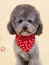 Gravata/Gravata Borboleta Roupas para Cães Fofo Da Moda Casual Osso Vermelho Azul