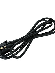 Kkmoon para bmw 3.5mm mini conector aux en adaptador de cable de radio de radio de interfaz para iphone ipod mp3 cd player