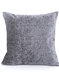Chenille Pillow Case-Grey