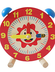 Building Blocks For Gift  Building Blocks Model & Building Toy Clock Wood 2 to 4 Years 5 to 7 Years Toys