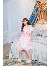Damen Babydoll & slips Anzüge Nachtwäsche,Sexy Solide