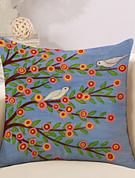 1 Pcs Vintage Tree Of Life Printing Pillow Case Sofa Cushion Cover Cotton/Linen Pillow Cover