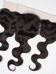 Indian Lace Frontal Closure Loose Wave 134 Ear to Ear Full Lace Frontal Unprocessed Human Hair