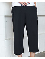 Femme Street Chic Taille Normale strenchy Chino Pantalon,Droite