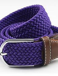 Canvas Belt Preparation Of Non-Porous Stretch Woven Elastic Belt