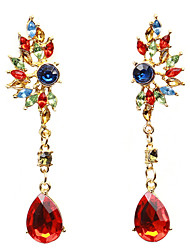 Drop Earrings Women's Girls' Euramerican Bohemian Elegant Luxury Rhinestone Droplets Movie Jewelry Party Daily Business