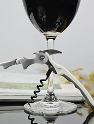 Stainless Steel Corkscrew for Jars Hippocampal Wine Beer Bottles Opener Tools