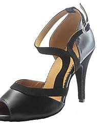 Maßfertigung Damen Latin Leder Sandalen Innen Maßgefertigter Absatz Schwarz Orange Blau