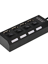 4 Port usb 2.0 High Speed ​​Hub mit Schalter