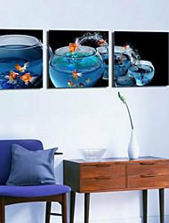 Estampados de Arte Vida Imóvel Moderno,3 Painéis Horizontal Estampado Decoração de Parede For Decoração para casa
