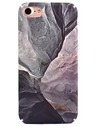 Pour Apple iphone 7 7 plus 6s 6 plus couverture de boîtier décalque en marbre décoratif soin de la peau touch pc matériel étui pour