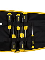 Stanley 6 Piece Rubber Handle Hole Flower Shaped Screwdriver /1 Set