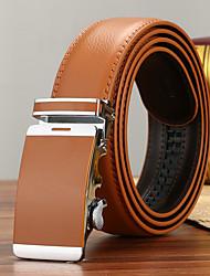 Men's Genuine Leather Waist Belt Fashion/Business/Dress/Casual Camel Belts
