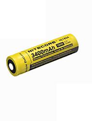 2pcs nitecore nl1834 3400mAh 3.7v 12.6wh 18650 литий-ионный аккумулятор