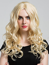 Elegantly Long Curly Hair  of high-quality human hair Wigs