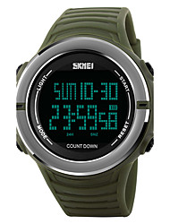 Skmei® Men's Outdoor Sports Multifunction Count Down Wrist Watch 50m Waterproof Assorted Colors