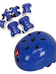 Children's Roller Helmet Helmet Set Seven-piece Skateboard Skateboarding Bicycle Dance Knee Elbow