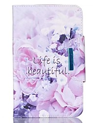 For Apple iPad Pro 9.7'' iPad Pro 10.5'' Air Air2 Case Cover Flower Pattern PU Skin Material Apple Flat Protective Shell