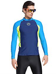 SBART Men's Shorty Wetsuit Elastane Chinlon Diving Suit Short Sleeves Tops-Swimming Surfing Diving & Snorkeling Summer Print