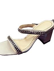 Da donna Sandali Classico Retrò Di tendenza Club Shoes PU (Poliuretano) Primavera Estate Da sera Quotidiano Formale Per uscireClassico