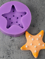 Starfish Handmade Chocalate Fondant Mold DIY Silicone Soap Mold Resin DIY Food Grade Silicone Mold