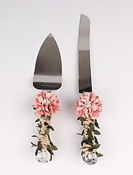 The New Chrysanthemum Flower Leaf Cake Servers Set