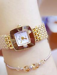 Mujer Reloj de Vestir Reloj de Moda Reloj de Pulsera Reloj creativo único Reloj Casual Chino Cuarzo Resistente al Agua Acero Inoxidable