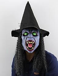 Colmilhos noite bruxa halloween natal bar festa fantasma casa horrível pessoas complicadas latex headgear máscara vestir-se executando