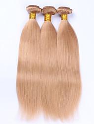 Beata Hair #27 Honey Blonde Body Wave Brazilian Human Hair Weave Bundles No Remy Human Hair Extension Weave