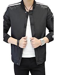Masculino Jaqueta Outro Diário Casual Roupas para Lazer Vestuário corporativo Para Noite Bandagem Tamanhos Grandes Encontro Rua