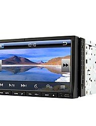 Runrgace 2din 7 '' slide down hd touch screen universal carro dvd player com gps / bluetooth / rádio rl-203wgn02