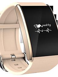 Women's Men's Fashion Watch Digital Rubber Band Black Gold