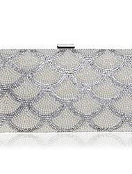 L.WEST Women's fashion pearl bride banquet dinner hand bags