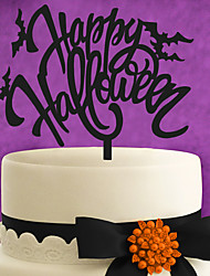 Custom-made ghost festival bat an acrylic cake decorated with cake decorated with a Halloween cake