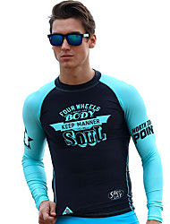 New Surfing Suits Men Split Sunscreen Snorkeling Clothes Quick Dry Diving Suits Motorboat Clothing Jellyfish Clothing