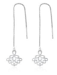 Women's Drop Earrings JewelryBasic Unique Design Tattoo Style Dangling Style Geometric Circle Friendship Turkish Cute Style Euramerican