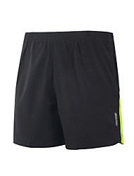 Running Shorts Quick Dry Lightweight Materials Reflective Strips Reduces Chafing Shorts for Yoga Camping / Hiking Taekwondo Boxing