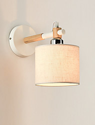 Fabric Wall Light Modern/Contemporary FeatureAmbient Light Wall Sconces