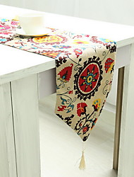 High Quality Cotton And Linen Household Table Flag
