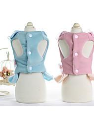 Chien Robe Vêtements pour Chien Soirée Princesse Fuchsia Rose Bleu clair Arc-en-ciel