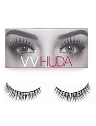 VVHUDA 1 Pair False Eyelashes Handmade Natural Light Makeup Eyelash Extensions Eye Fake Lashes Collection Cosmetic Tools Jessica