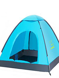 2 Pessoas Bolsa de Viagem Tenda Dobrada Barraca de acampamento Cetim Esticado Manter Quente-Acampar e Caminhar-
