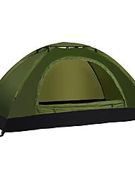 LINGNIU® 1 Pessoa Tenda Único Barraca de acampamento Tenda Automática Prova-de-Água Térmico/Quente Ultra Leve (UL) para CM Um Quarto
